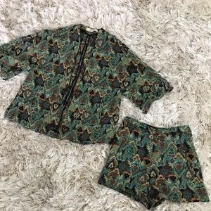 Two-Piece Short Set